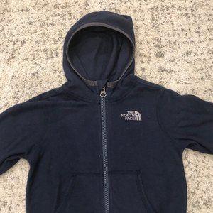 North Face lightweight fleece hoodie